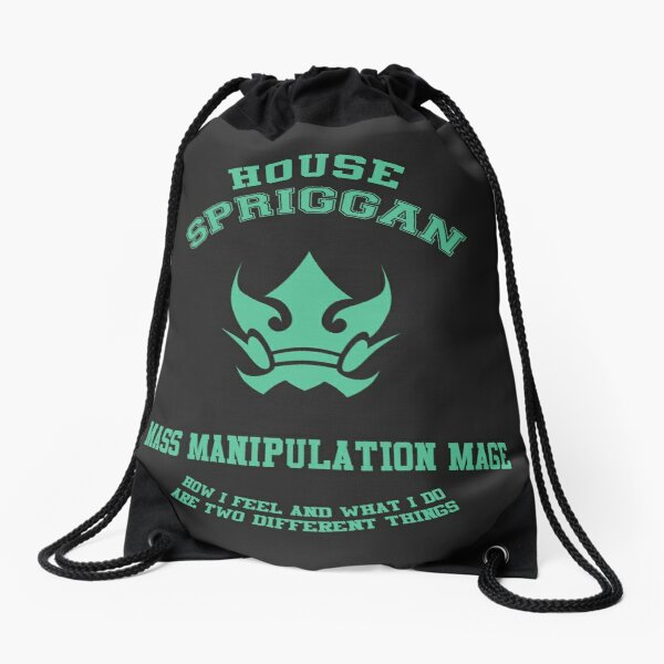 Mass Manipulation mage of the Spriggan 12 - normal Drawstring Bag