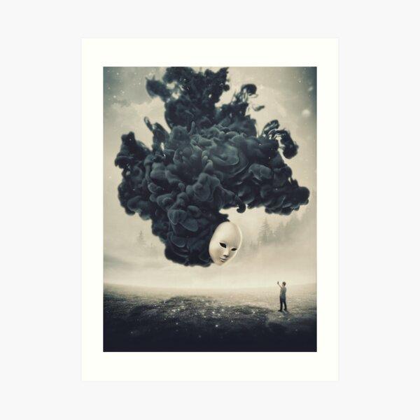 The Selfie A Dark Surrealism Art Print