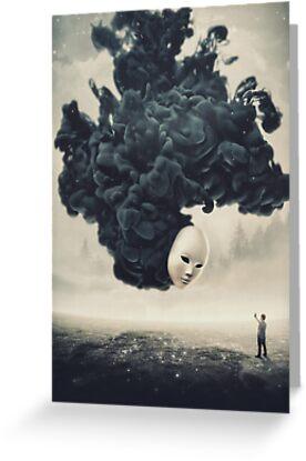 Das Selfie Ein dunkler Surrealismus von barrettbiggers