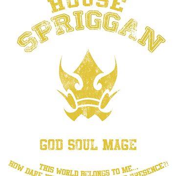 God Soul of the Spriggan 12 by scarletxtears