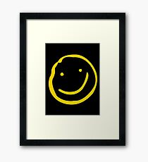 Smile if You're Bored Framed Print
