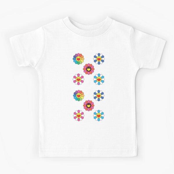 Cute Kidcore Flowers Aesthetic Kids T-Shirt