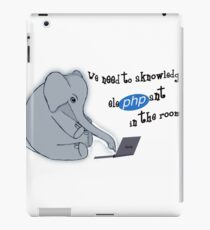 The elePHPant in the room iPad Case/Skin