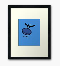 Mr. Grumpy Framed Print