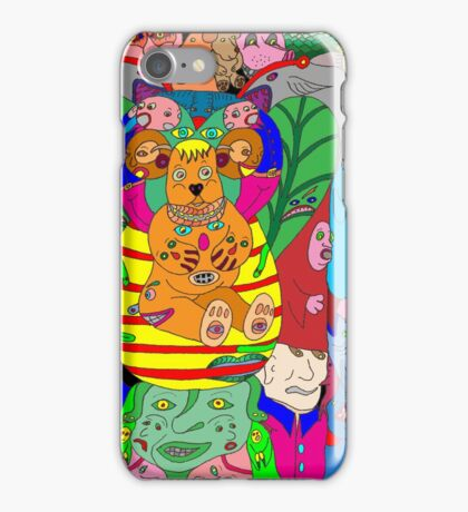 A hint of colourful symmetry iPhone Case/Skin