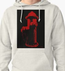 Fire Red Pullover Hoodie