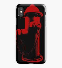 Fire Red iPhone Case