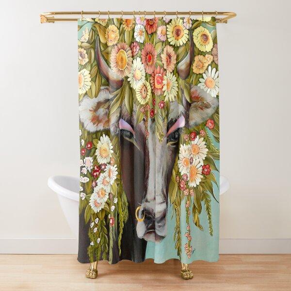 La désalpe Swiss tradition Shower Curtain