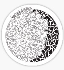Lunar Phases Series: Waning Gibbous Sticker