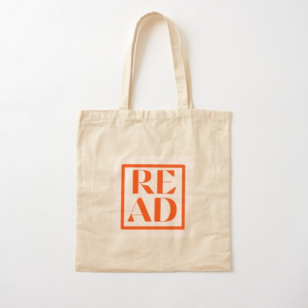 Read (Books!) - red vintage edition Cotton Tote Bag