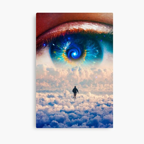 Cloud Runner Canvas Print