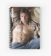 TEXAS COWBOY BY JEFF BREWSTER 4 Spiral Notebook