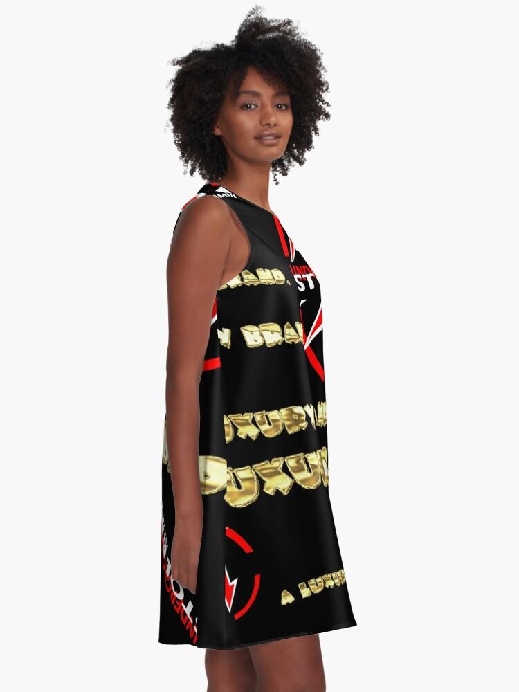 Alternate view of A LUXURY BRAND. A-Line Dress