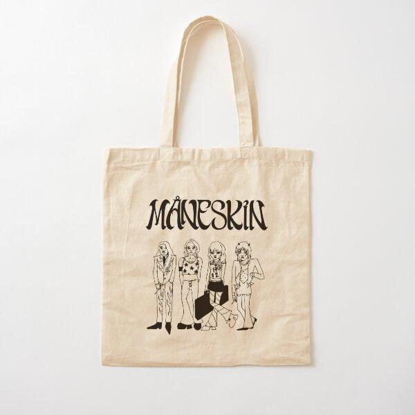 Maneskin doodle Måneskin Cotton Tote Bag
