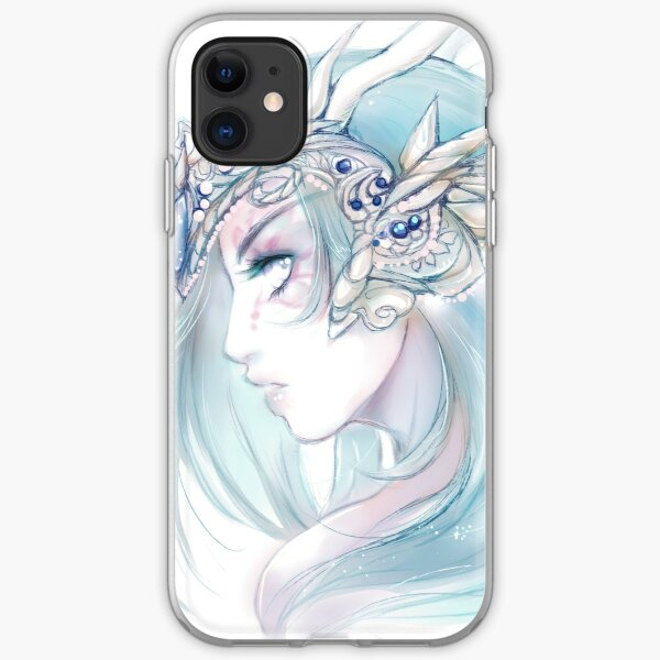 Moon Crown iPhone Soft Case