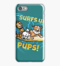 Surfing pups iPhone Case/Skin