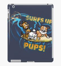 Surfing pups iPad Case/Skin