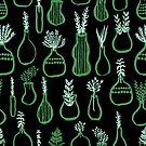 Herb Garden - Green & Mint by Andrea Lauren von Andrea Lauren