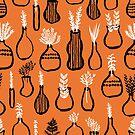 Herb Garden - Orange by Andrea Lauren von Andrea Lauren