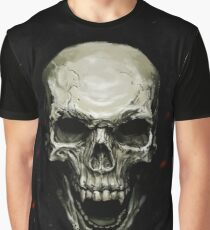 Undead Skull Graphic T-Shirt