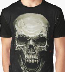 Undead Skull Graphic T-Shirt