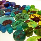 Coloured Resin Beads Design 5 by noworrybeads