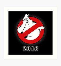 Ghostbusters Facepalm Art Print