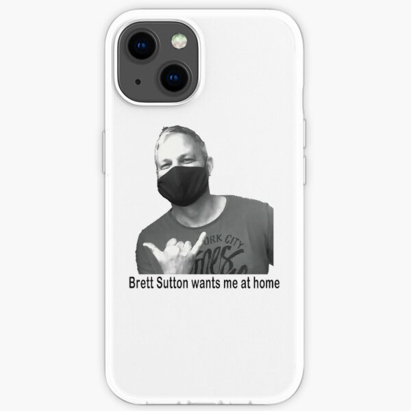 Brett Sutton iPhone Soft Case