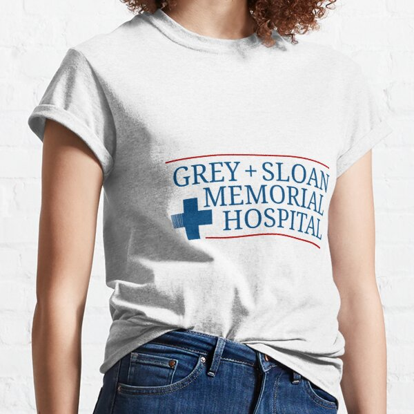 Gray + Sloan Memorial Hospital Camiseta clásica