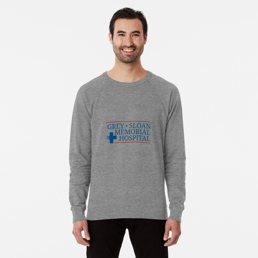 Grey + Sloan Memorial Hospital Lightweight Sweatshirt