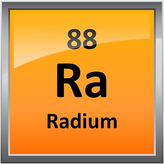 Radium periodic table element symbol posters by sciencenotes radium periodic table element symbol by sciencenotes urtaz Gallery