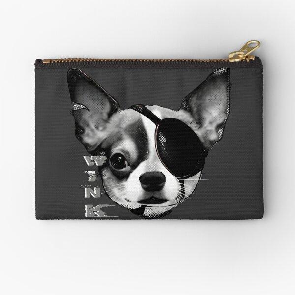 Wink Chihuahua Cruella Zipper Pouch