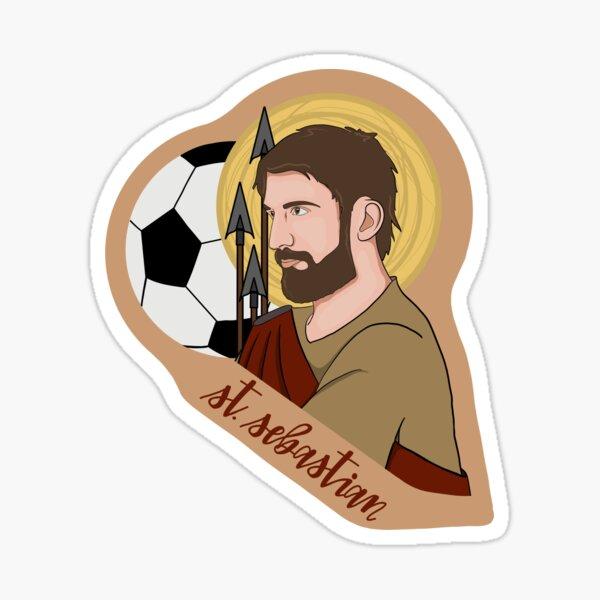 St. Sebastian (Soccer) Sticker