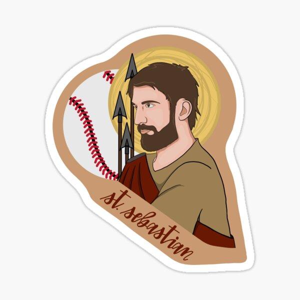 St. Sebastian (Baseball) Sticker