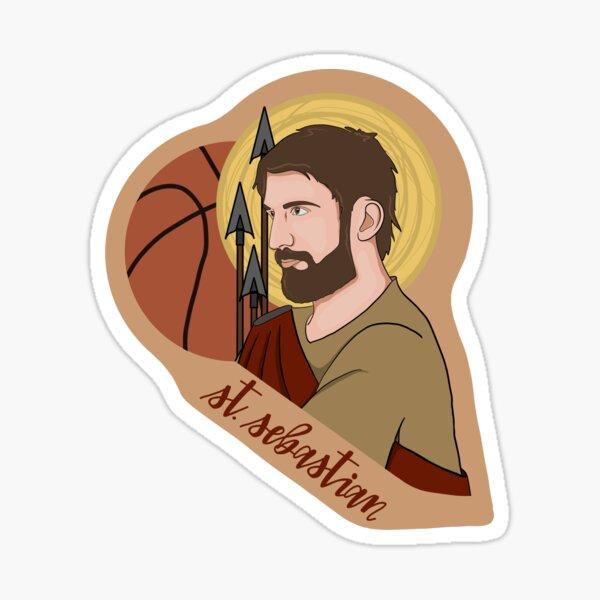 St. Sebastian (Basketball) Sticker