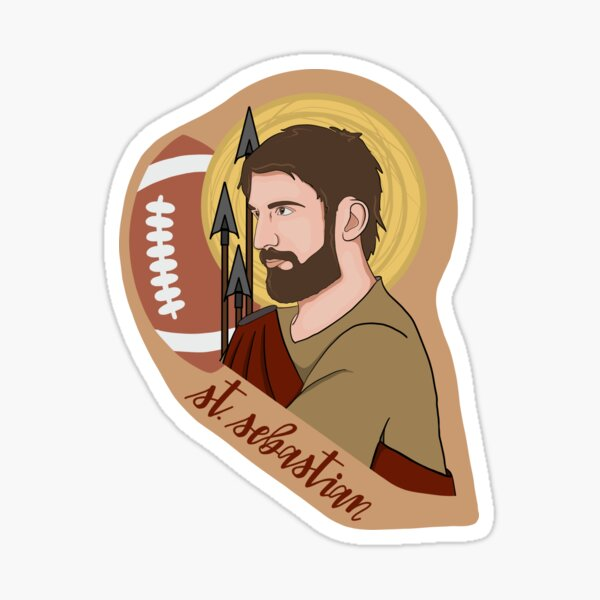 St. Sebastian (Football) Sticker