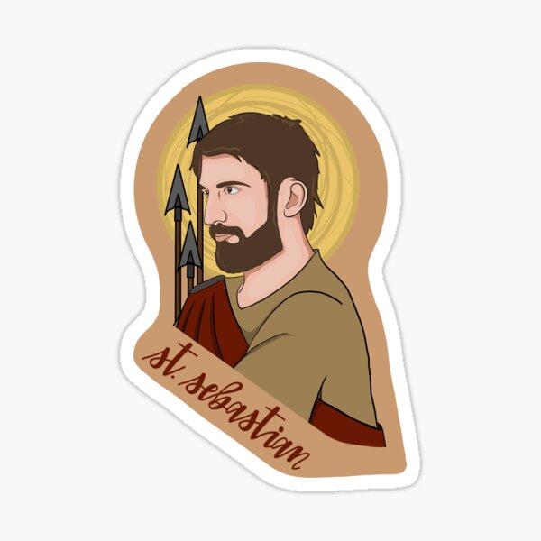 St. Sebastian Sticker