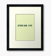 DC Comics - Starling City  Framed Print