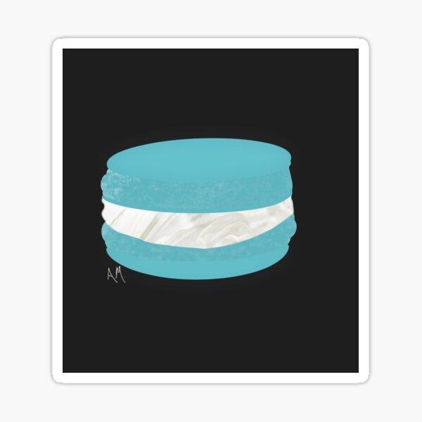 Sweet Blue Macaron Sticker