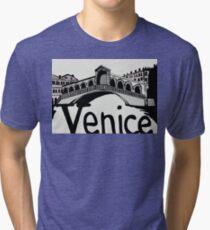 Rialto bridge Venice Tri-blend T-Shirt