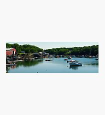 Coastal Maine Bay Photographic Print