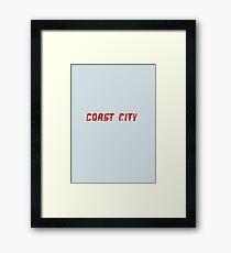 DC Comics - Coast City Framed Print