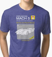 Mach 5 Service and Repair Tri-blend T-Shirt