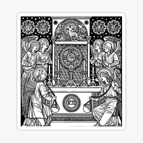 Blessed Sacrament Sticker