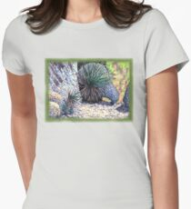 Boulders and Desert Spoons * Womens Fitted T-Shirt