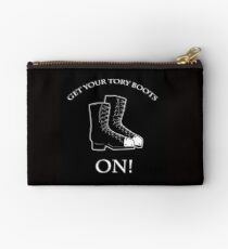 Get your Tory boots on! - Traci Harding Studio Pouch