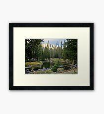 Slough Creek Campspot Framed Print