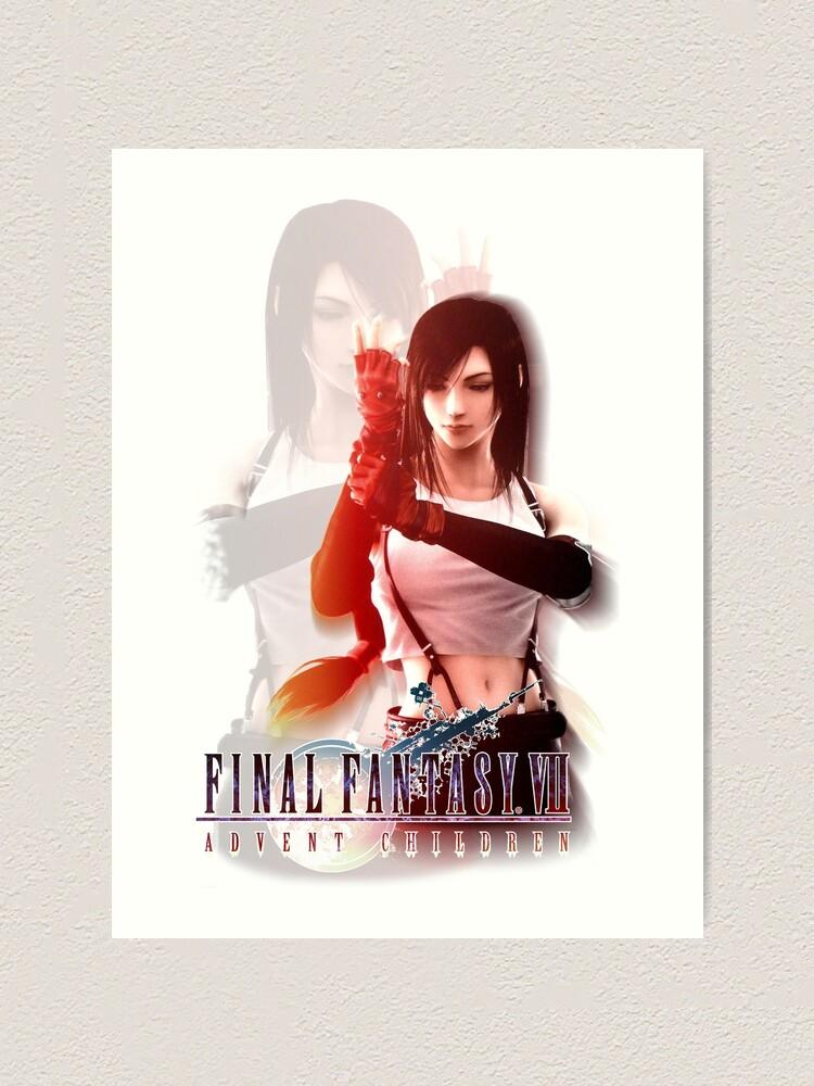 Tifa Lockhart Final Fantasy Vii Advent Children Art Print