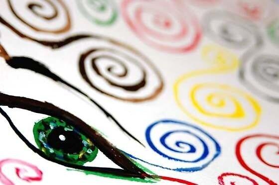 Eye See Karmic Circles © Vicki Ferrari by Vicki Ferrari