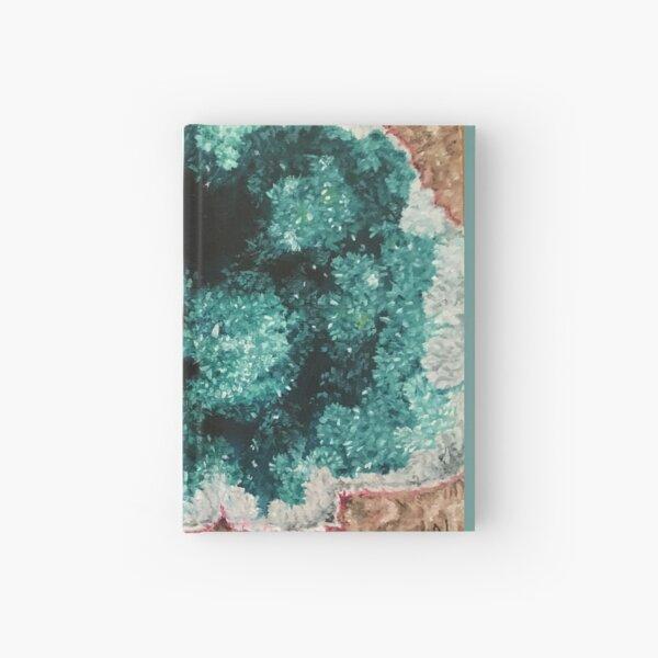 Green Geode Hardcover Journal